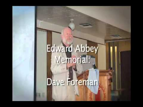 Dave Foreman speaks at Edward Abbey's Wake
