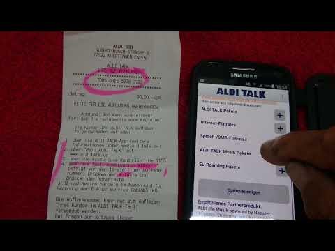 ☎️ Aldi App Installieren Und Tarif Und Guthaben Besser Verwalten