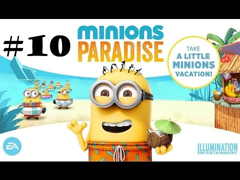 Minions Paradise Part 10 - BUILD ELECTRO-MAGNETIC FIELD GENERATOR