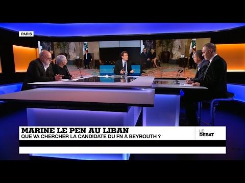 Marine Le Pen au Liban : que va chercher la candidate du FN ? (partie 1)