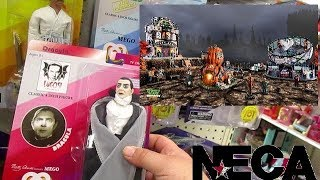 Toy Hunting MEGO Action Figures at Target NECA and LEMAX Spooky Town