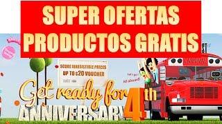 Consigue Productos GRATIS | Grandes Descuentos | 4to Aniversario De Gearbest!!!