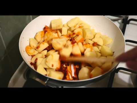 Potatoes with Paprika, a very hungarian dish