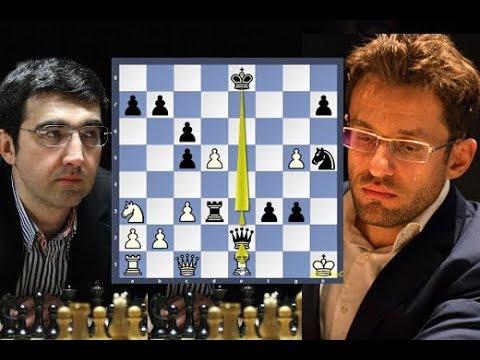 Kramnik's GodLike Moves Astonish 2018 Candidates