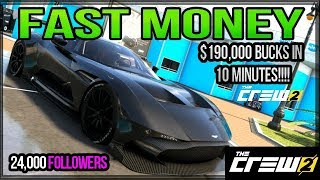how to make fast money in the crew 2 180000bucks in 10 minutes