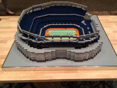 Denver Broncos Lego Sports Authority Field at Mile High Replica