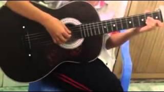 Cơn Mưa Quá Khứ - Hải Băng - Angelina Xu guitar cover
