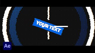 *Free*(No Text) Modern Glitch Intro - After Effects, Sony Vegas, Kinemaster, Mobile, Blender