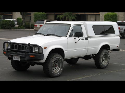 1983 Toyota Pickup Truck 4x4 With 70k Original Miles PU 4x4 Test Drive And Overview