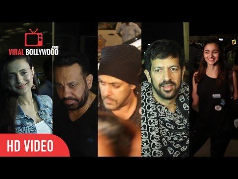 IIFA Awards 2016 | Salman Khan, Alia Bhatt, Kabir Khan, Shera | Flying To Madrid