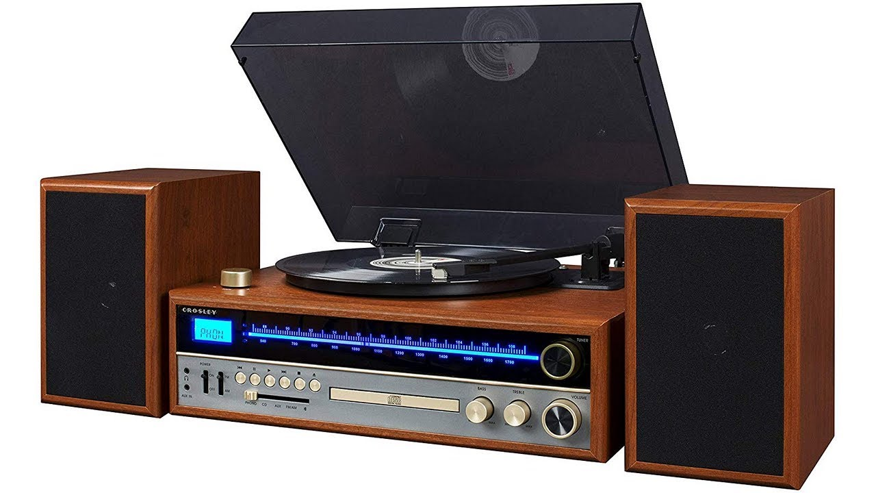 Crosley 1975t 1970s Style Stereo System Review Test