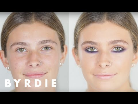 Bold Smoky Underliner Makeup Tutorial With Jo Baker | Byrdie