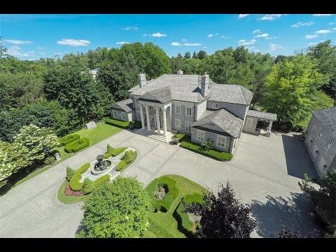 NeoClassical Solid Stone Estate in Toronto, Canada