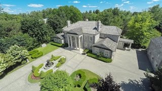 NeoClassical Solid Stone Estate in Toronto, Canada