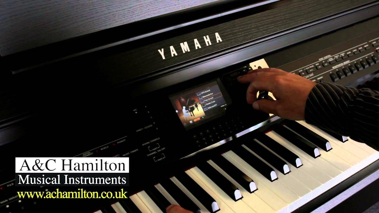 yamaha cvp 701 styles piano room demo a c hamilton. Black Bedroom Furniture Sets. Home Design Ideas