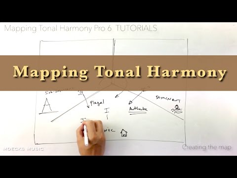 Mapping Tonal Harmony. A map that reveals how harmony works. Tutorial #2