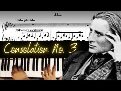 Liszt - Consolation No. 3 │ Classical Piano Lesson #7