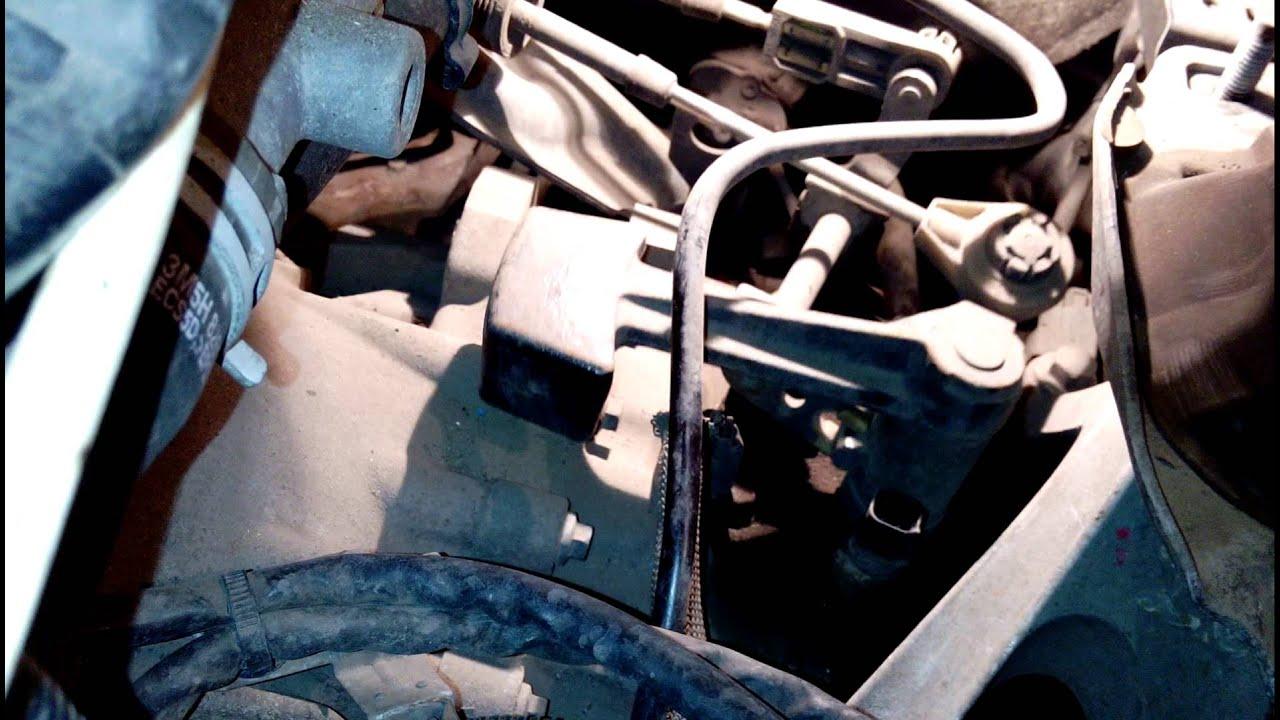 Как работает механизм выбора передач MTX-75