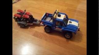 Дом на колесах LEGO 60182 обзор набора PICKUP & CARAVAN [музей GameBrick]