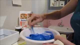Haare blau-türkies tönen mit Directions