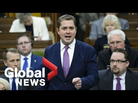 SNC-Lavalin: Scheer says he received letter from Trudeau threatening to sue for libel