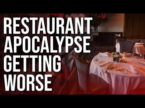 Restaurant Apocalypse Getting Worse: 40 Percent Of US Restaurants Could Close By The End Of The Year