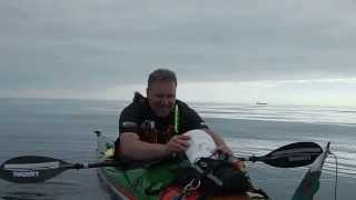 Sea Kayaking across the Irish Sea 2013