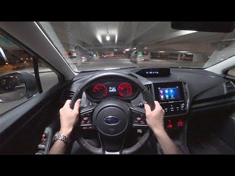 2018 Subaru Crosstrek 2.0i Premium 6-Speed Manual - POV Night Drive (Binaural Audio)