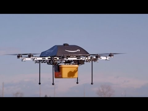 Amazon Testing Drone Delivery System