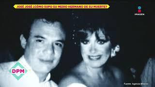 Así se enteró Héctor Sosa de la muerte de su medio hermano José José | De Primera Mano