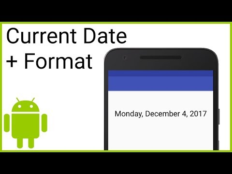 How to Get the Current Date and Format It Using DateFormat