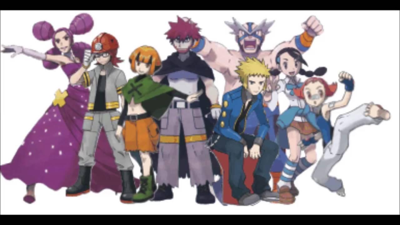 Pokemon diamond pearl gym leaders for Gimnasio 8 pokemon reloaded