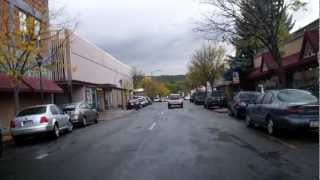 Flagstaff Arizona, Downtown with Allen & the Dog