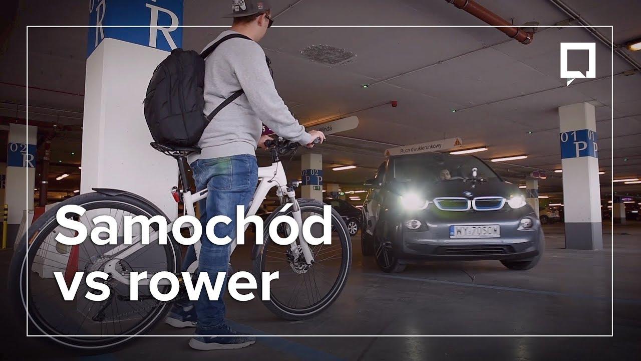 Wyścig ulicami Warszawy: elektryczne auto vs. elektryczny rower