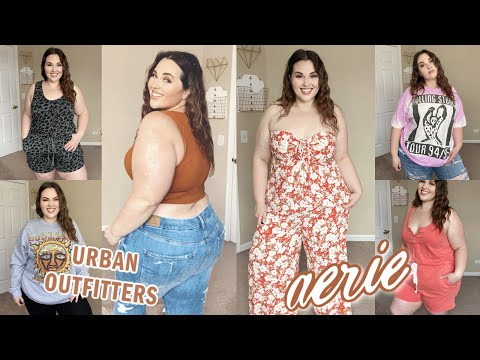 American Eagle & Urban Outfitters Haul: Giant Tees & Amazing Jeans | Sarah Rae Vargas