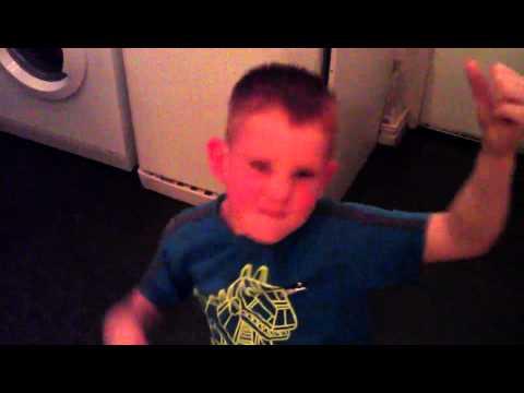 My son the kitchen rockstar (paradise city )