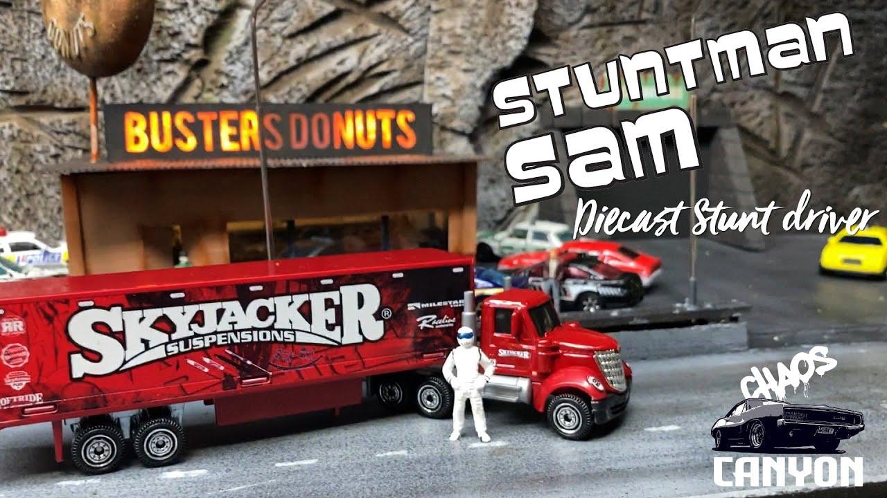 Stuntman Sam: 9 Aug 2020 - diecast stuntdriver