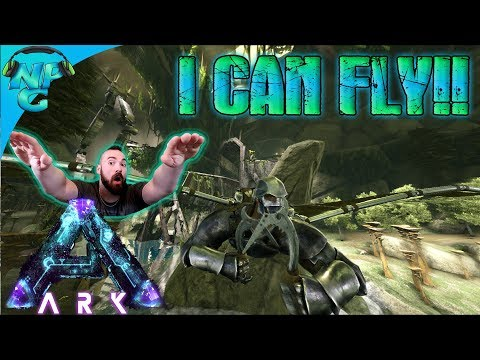 ARK Aberration WINGS - Soaring through the Sky with the Flight Suit! ARK Survival Evolved S1E4