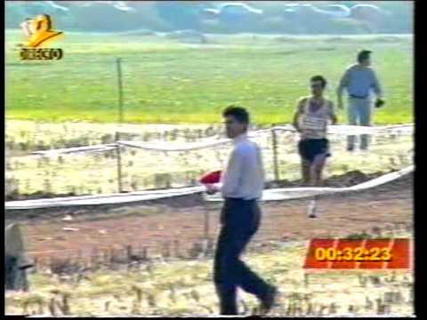 Atletismo :: Domingos Castro campeão nacional de Corta Mato em 1994