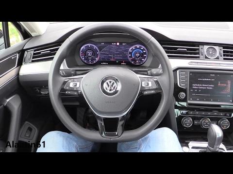 Volkswagen Passat 2017 interior Review, Test Drive