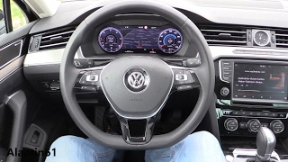 Volkswagen Passat 2017 interior Review, Test Drive