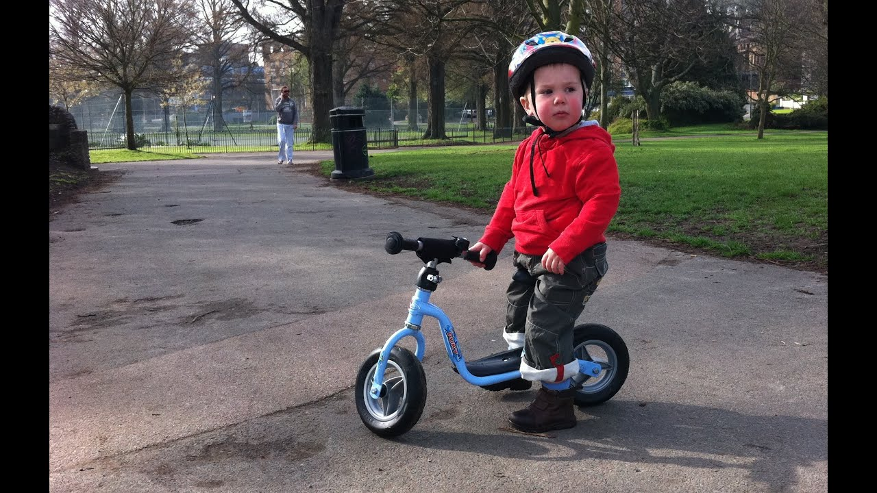 Lenny On His Puky Balance Bike Youtube