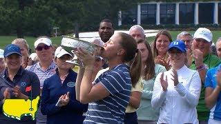 Augusta National Women's Amateur Trophy Ceremony