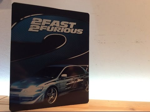 2 Fast 2 Furious Blu-Ray Steelbook Unboxing & Review [2017]