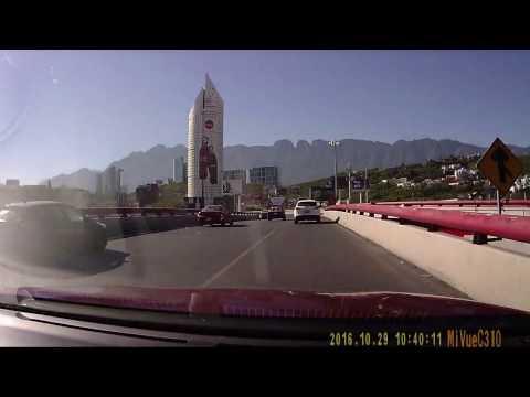 Conduciendo por Monterrey, NL, Mx 2016-10-29