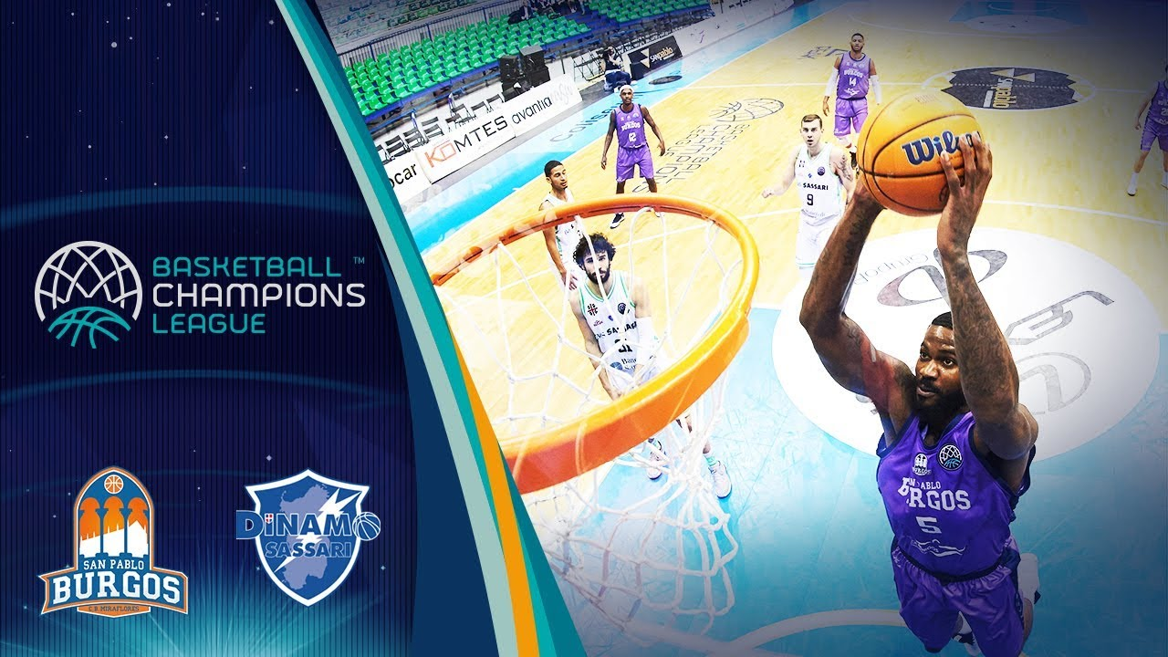 San Pablo Burgos v Dinamo Sassari - Full Game - Round of 16 - Basketball Champions League 2019
