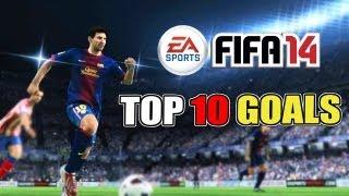 FIFA 14 Top 10 Goals