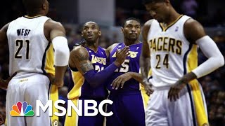 An Emotional Metta World Peace Reflects On His Relationship With Kobe Bryant | MSNBC