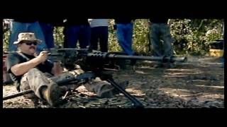 Shooting a .50 Caliber Machine Gun in Super Slow Motion