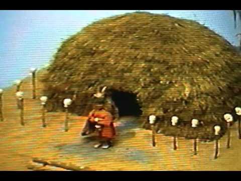 Mississippian Indian Culture diorama
